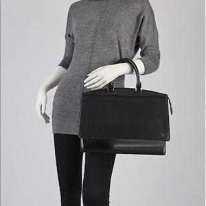 Louis Vuitton black Riveria Epi canvas Handbag